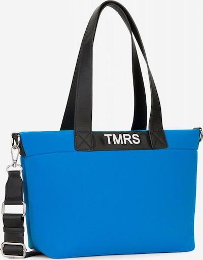 TAMARIS Shopper 'Almira' in blau / schwarz / weiß, Produktansicht