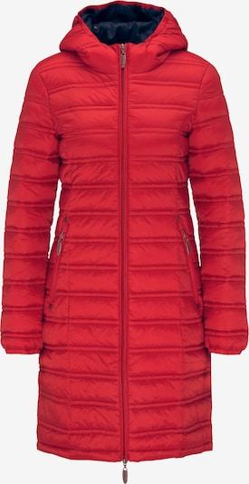 Usha Mantel in rot, Produktansicht