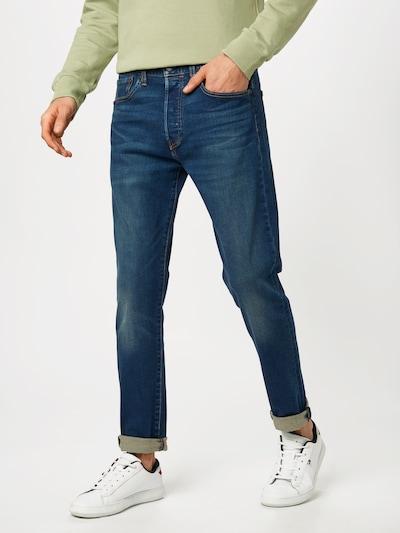 LEVI'S Jeans '501™  SLIM TAPER' in dunkelblau: Frontalansicht