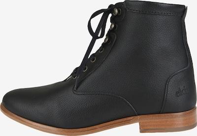 EKN Footwear Schnürstiefelette 'Desert High' in cognac / schwarz, Produktansicht
