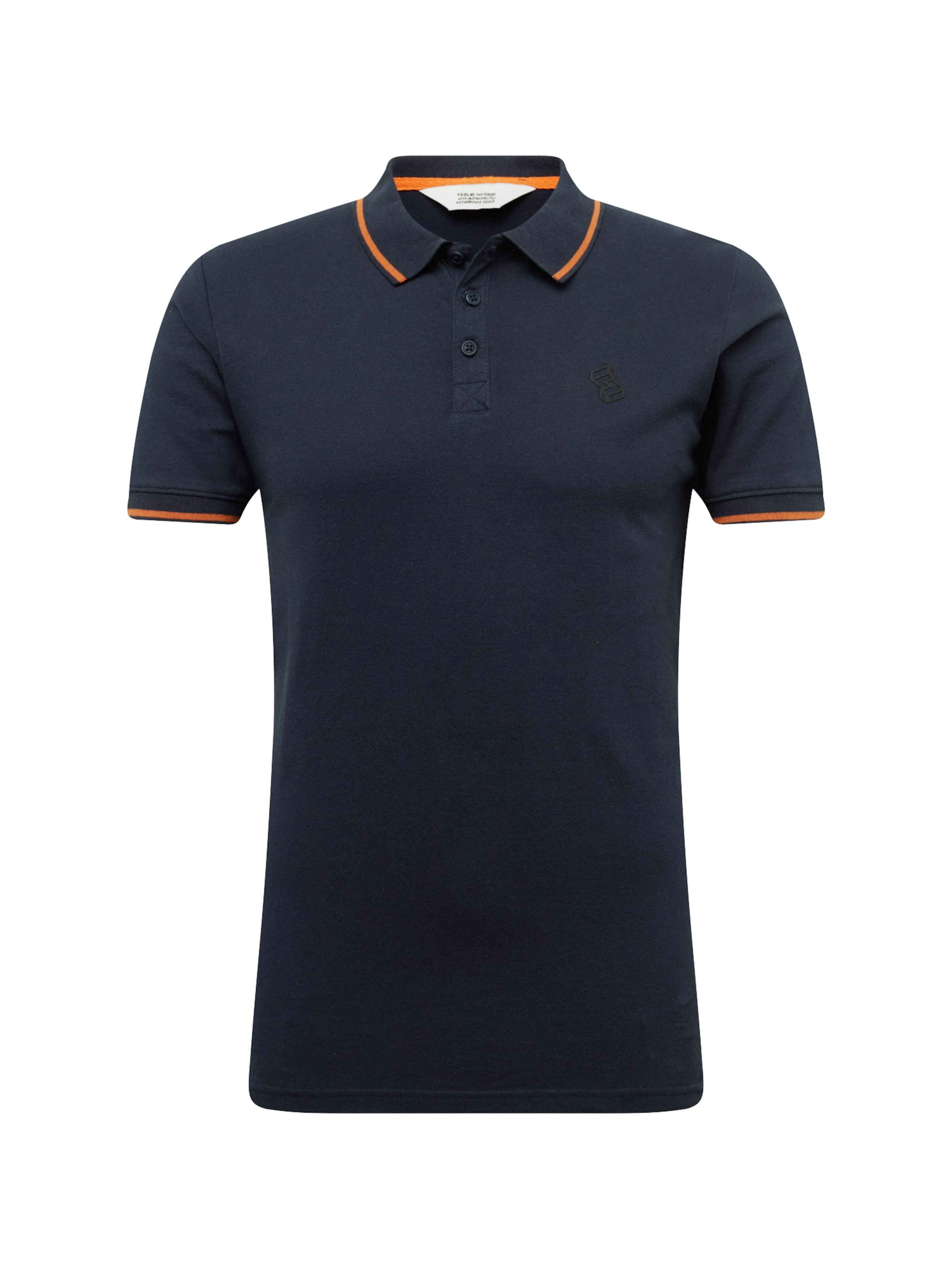 solid In Polo In 'axton' Dunkelblau solid 'axton' Polo TOwPkuXiZ