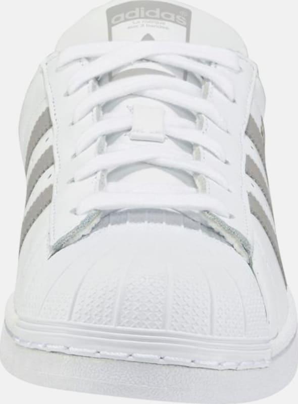 Adidas Originals OrGris Basses Baskets En 'superstar' Argenté Blanc f67gby