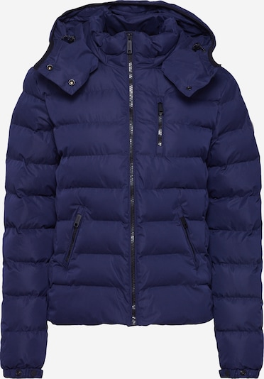 Superdry Tussenjas 'SUMMER MICROFIBRE JACKET' in de kleur Navy, Productweergave