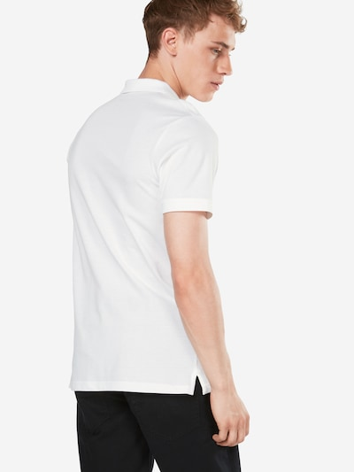 JACK & JONES Poloshirt 'JJEBASIC POLO SS' in weiß: Rückansicht