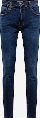 BLEND Teksapüksid 'Jet Slim Taperd Multiflex', värv sinine