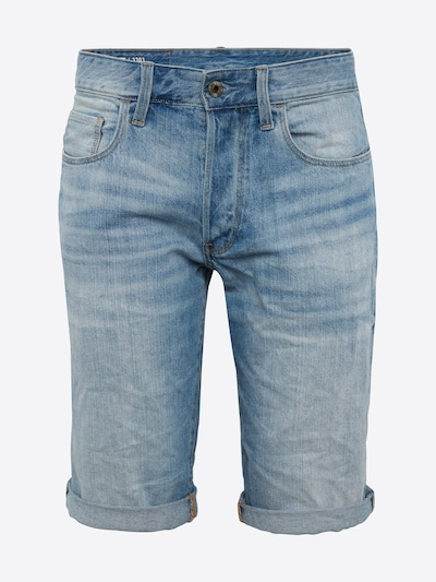 G-Star RAW Shorts in blue denim, Produktansicht