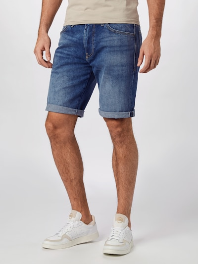 DIESEL Jeans 'Thoshorts' in blue denim: Frontalansicht