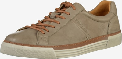 CAMEL ACTIVE Sneaker 'Racket' in karamell / stone: Frontalansicht