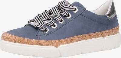 ARA Sneaker in taubenblau / braun, Produktansicht