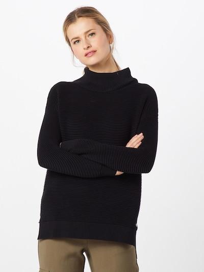 TOM TAILOR DENIM Pullover 'Ottoman' in schwarz, Modelansicht