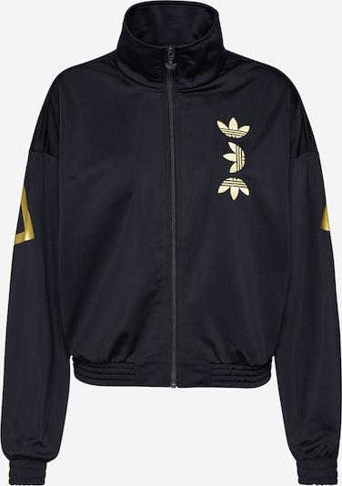 ADIDAS ORIGINALS Jacke in gold / schwarz, Produktansicht