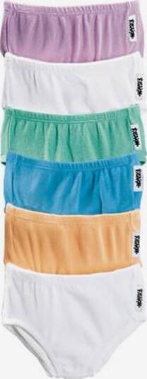 Maier Sports Slips in rauchblau / pastellgrün / mauve / apricot / weiß, Produktansicht
