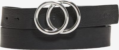 s.Oliver Gürtel in schwarz, Produktansicht