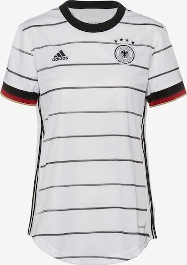 ADIDAS PERFORMANCE Maillot 'EM 2020 Deutschland DFB' en noir / blanc, Vue avec produit