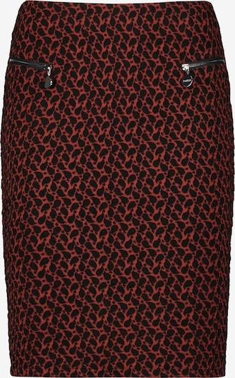 TAIFUN Rok in de kleur Rood / Zwart, Productweergave