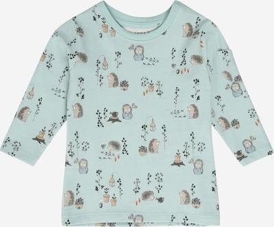 NAME IT T-Shirt 'KIMO' en turquoise / gris: Vue de face