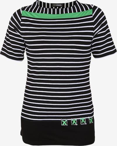 Doris Streich Shirt mit Kontraststreifen in mischfarben, Produktansicht