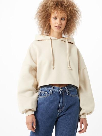 Gina Tricot Majica | kremna barva, Prikaz modela