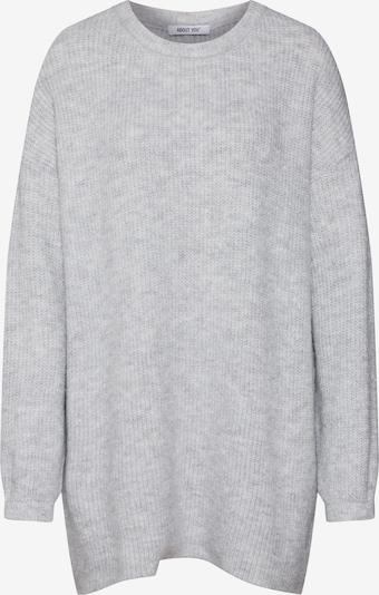 ABOUT YOU Pull-over oversize 'Mina' en gris, Vue avec produit