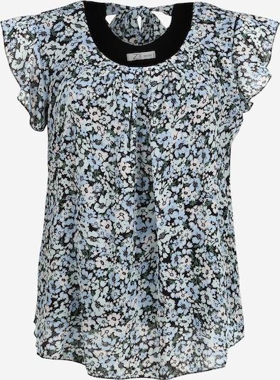 Z-One Bluse 'Nela' in schwarz / weiß, Produktansicht