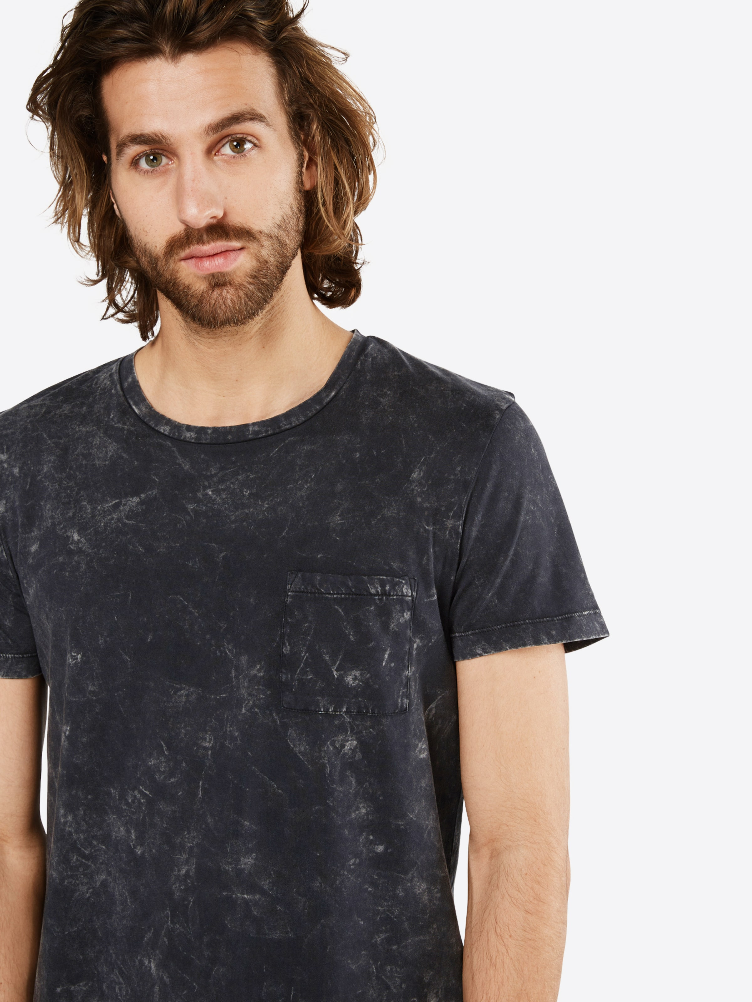 TOM TAILOR DENIM T-Shirt 'Washed tee with pocket' Angebote Günstiger Preis JBuFPVr