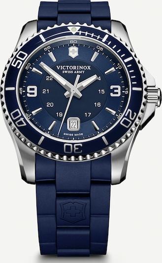 VICTORINOX Analoog horloge 'Maverick' in de kleur Navy / Zilver, Productweergave