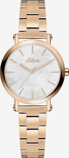 s.Oliver Uhr in rosegold, Produktansicht