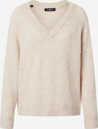 SELECTED FEMME Pullover 'Lulu' in hellbeige, Produktansicht