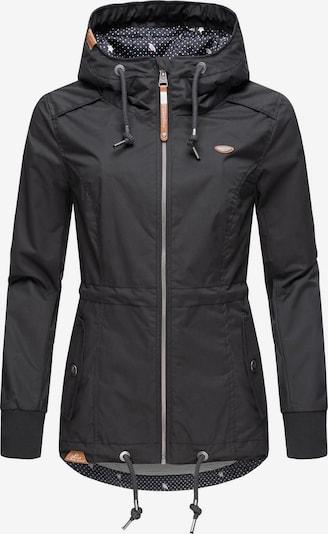 Ragwear Outdoorjacke ' Danka ' in schwarz, Produktansicht