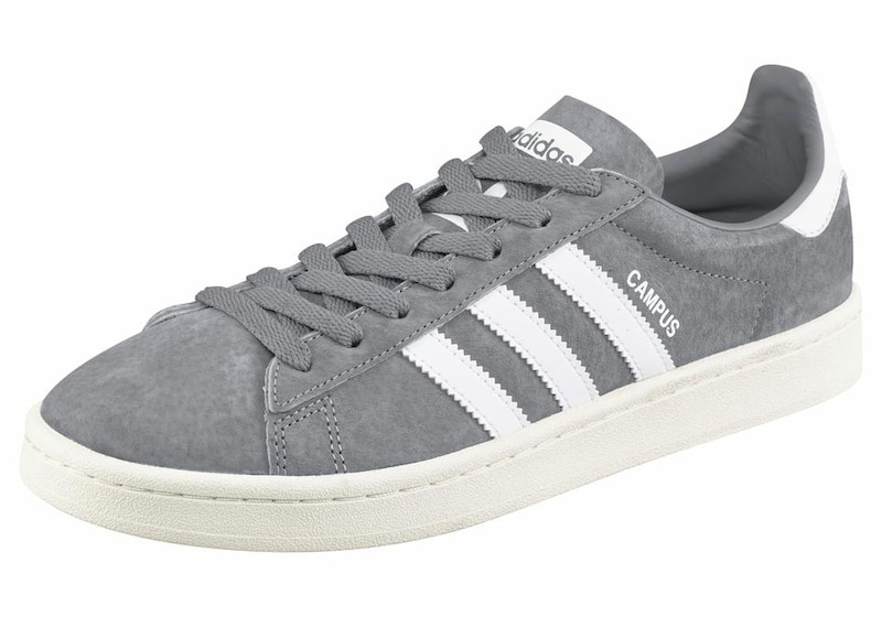 ADIDAS ORIGINALS Sneaker 'Campus' in grau weiß