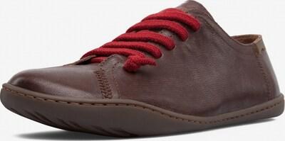 CAMPER Schuh 'Peu' in braun / rot, Produktansicht