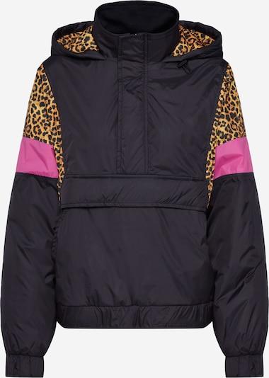 Urban Classics Tussenjas in de kleur Pink / Zwart, Productweergave