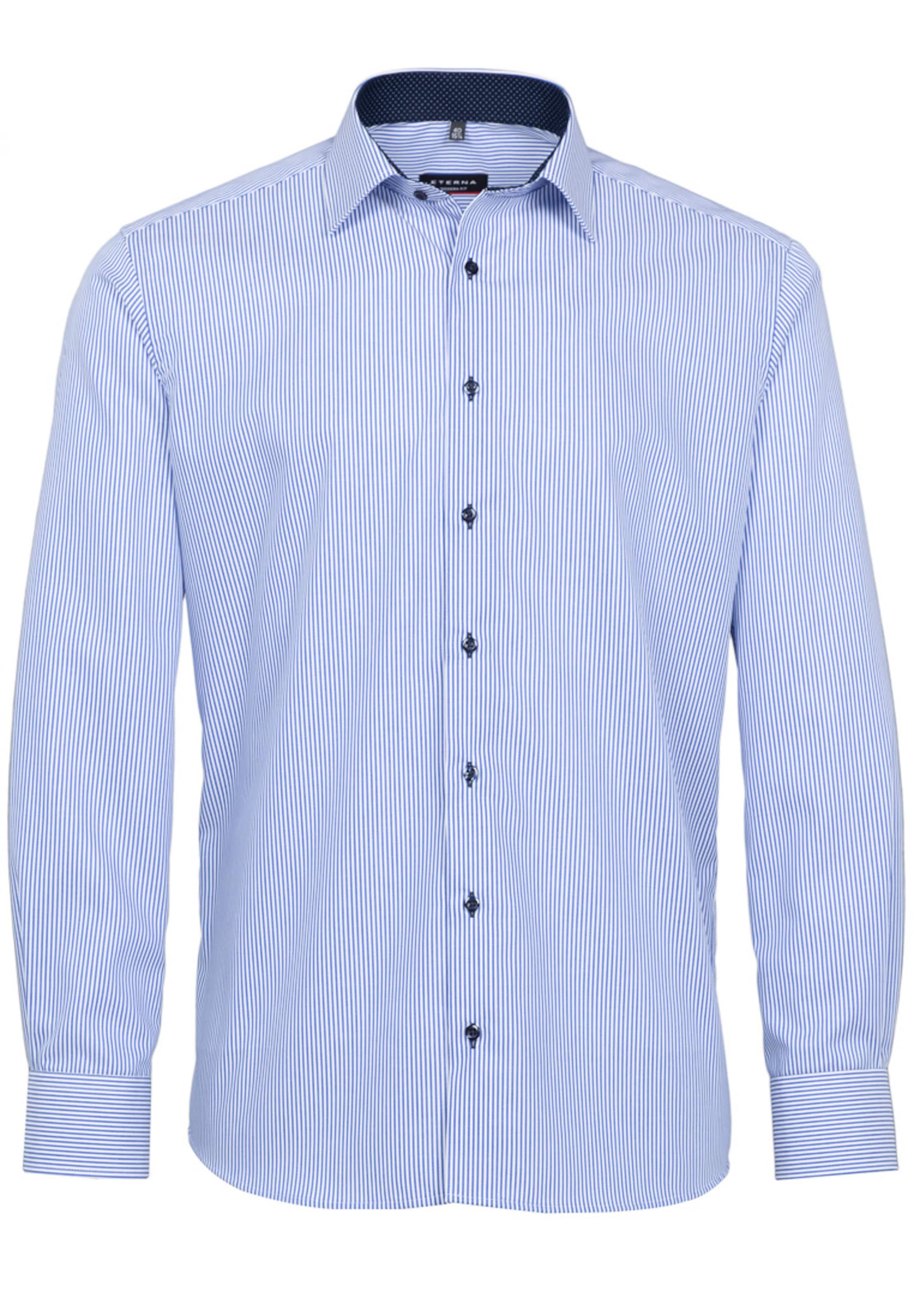 Eterna Hemd Modern Langarm Hellblau In Fit l3KcF1TJ