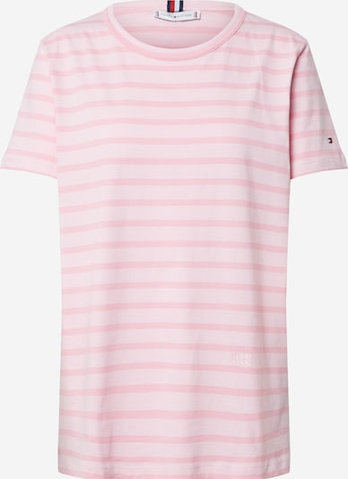 TOMMY HILFIGER Shirt 'TH COOL ESS RELAXED C-NK TEE SS' in de kleur Rosa, Productweergave