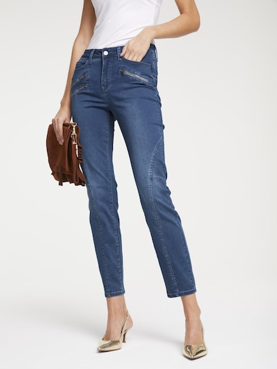 heine Jeans 'Aleria' in blue denim, Modelansicht