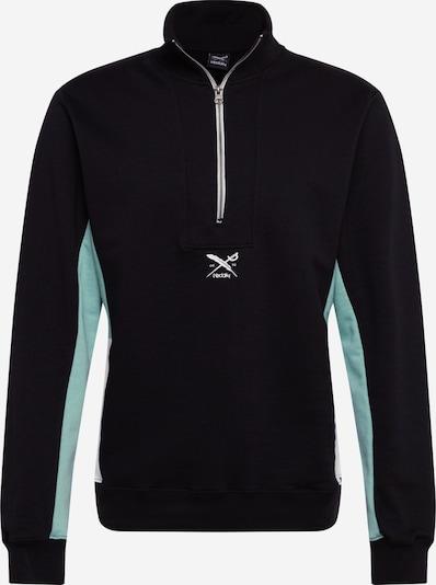 Iriedaily Sweatshirt ' Court Troyer ' in de kleur Zwart, Productweergave