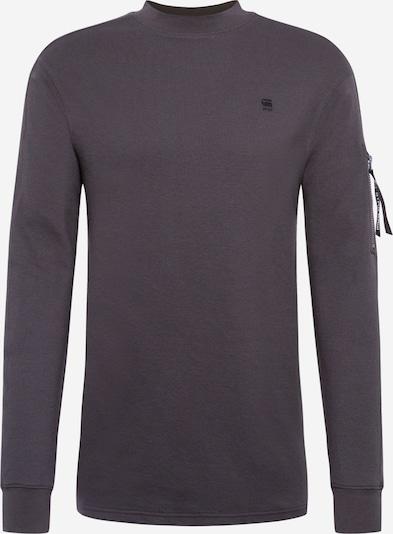 G-Star RAW Shirt 'Kylio waffle o' in de kleur Grijs, Productweergave