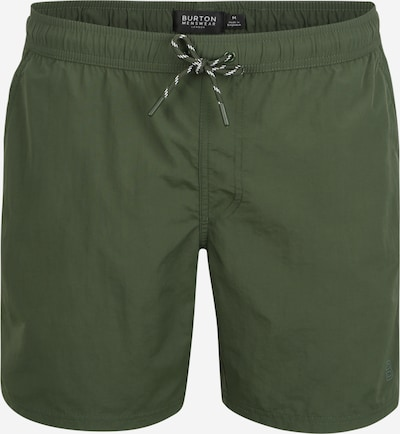 BURTON MENSWEAR LONDON Shorts de bain 'CORE CROC GREEN SWIM' en vert, Vue avec produit