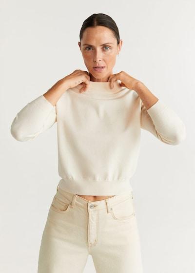 MANGO Pullover in nude, Modelansicht
