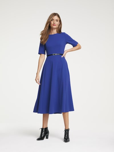 heine Kleid in royalblau, Modelansicht