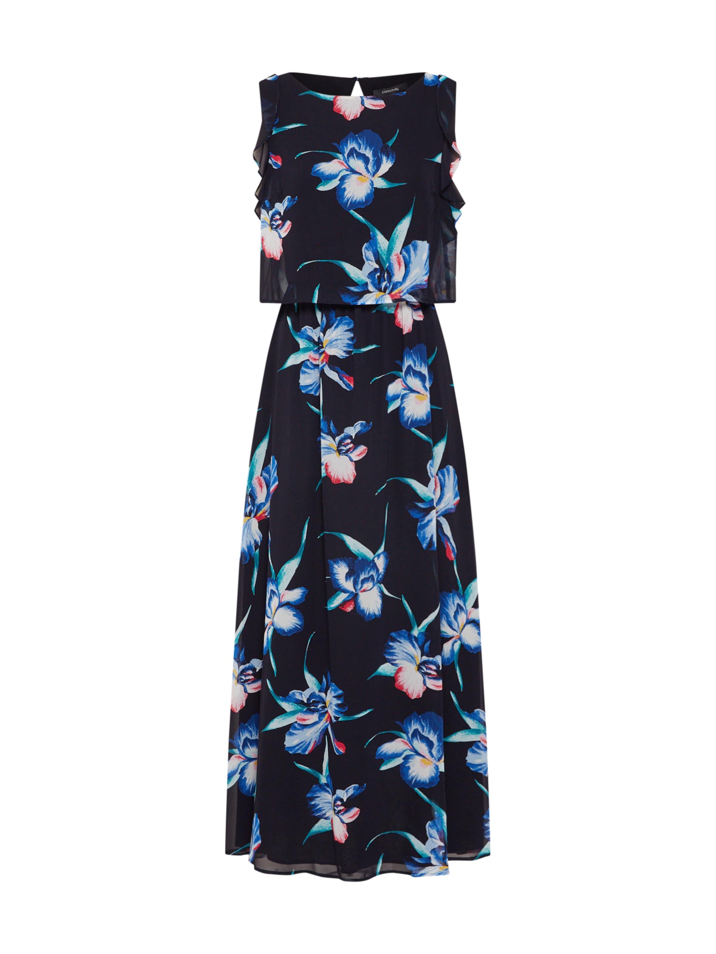 DunkelblauMischfarben In Kleid Kleid Kleid DunkelblauMischfarben DunkelblauMischfarben In Comma In Comma Comma NXnP8O0wk