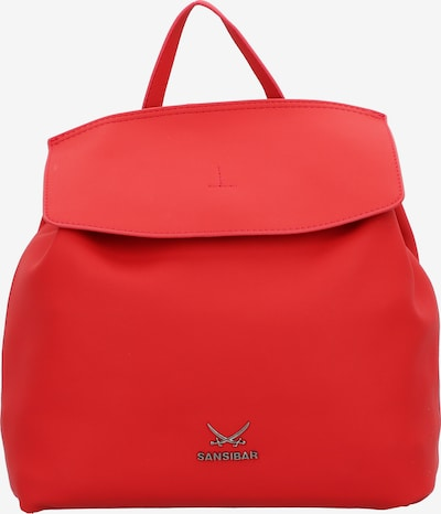 SANSIBAR Rucksack in rot, Produktansicht