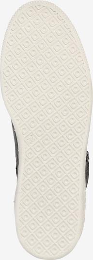 BULLBOXER Sneakers hoog in de kleur Zwart / Wit: Onderaanzicht