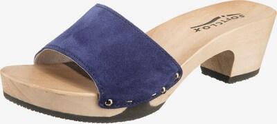 SOFTCLOX Kelly Pantoletten in braun / lila, Produktansicht