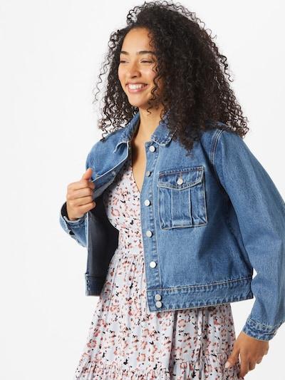VILA Prehodna jakna 'ARTA' | moder denim barva: Frontalni pogled