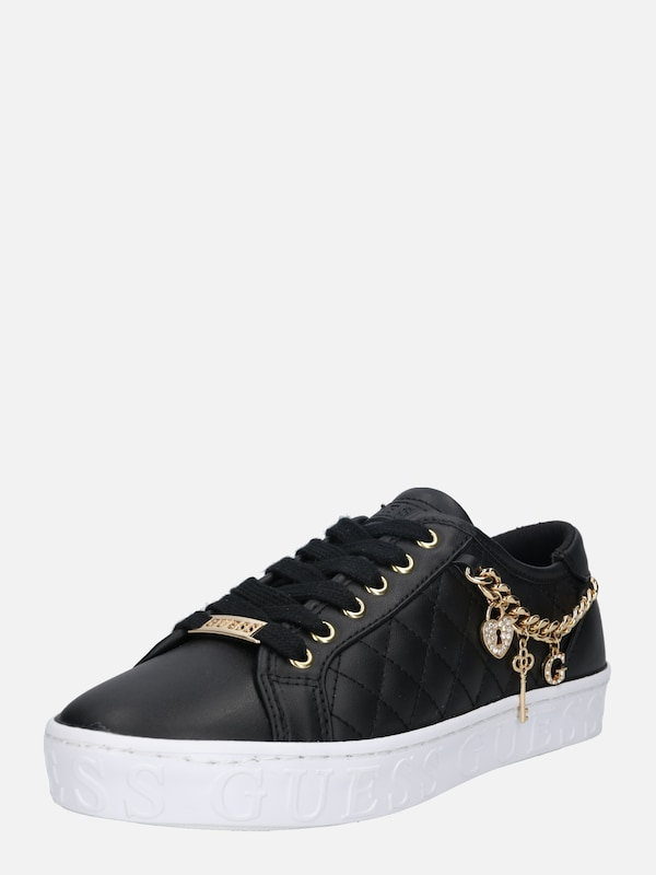 GUESS Sneakers laag 'Graselin' in Zwart | ABOUT YOU