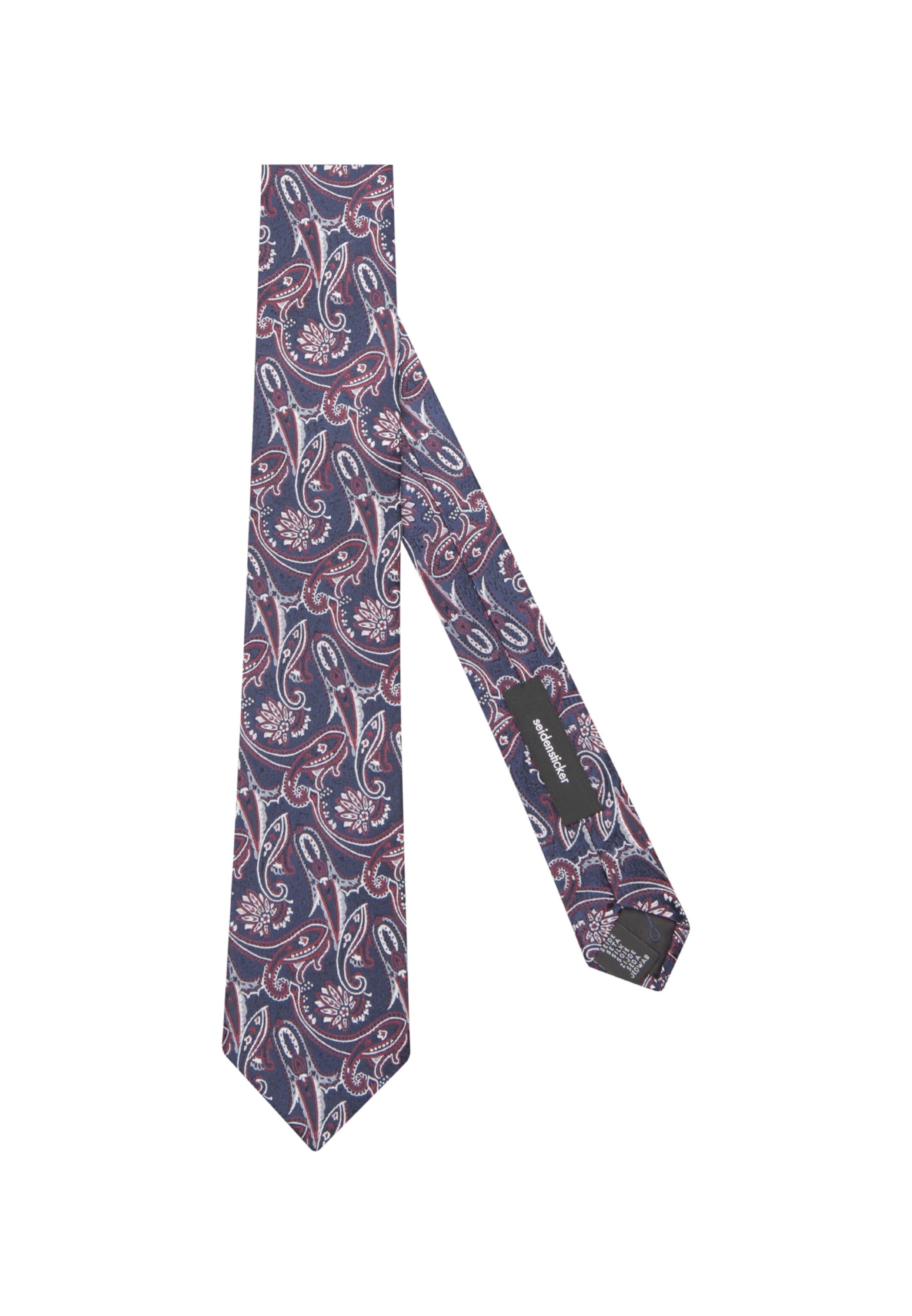 In DunkelblauRot Rose' Krawatte Seidensticker 'schwarze Weiß dxrCBoe