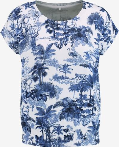 GERRY WEBER Pullover in blau / weiß, Produktansicht