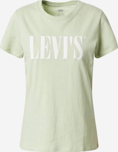 LEVI'S Shirt 'THE PERFECT TEE' in grün, Produktansicht