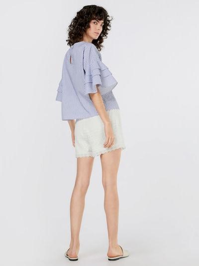 VERO MODA Spitzen Shorts in weiß: Rückansicht